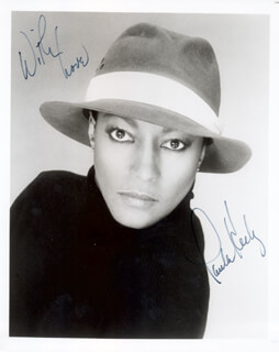 PAULA KELLY - AUTOGRAPHED SIGNED PHOTOGRAPH