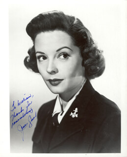 JANE GREER - AUTOGRAPHED INSCRIBED PHOTOGRAPH