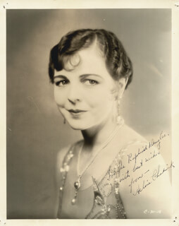 HELENE CHADWICK - AUTOGRAPHED INSCRIBED PHOTOGRAPH