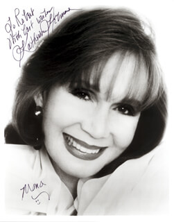 KATHERINE HELMOND - AUTOGRAPHED INSCRIBED PHOTOGRAPH