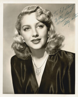 CATHY CARTER - AUTOGRAPHED SIGNED PHOTOGRAPH