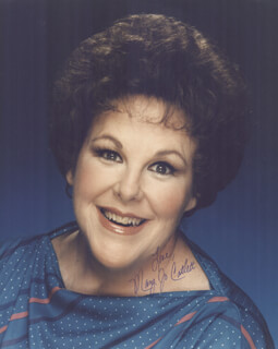 MARY JO CATLETT - AUTOGRAPHED SIGNED PHOTOGRAPH