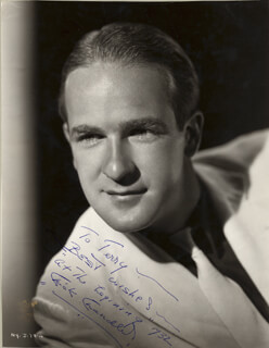 CHICK CHANDLER - AUTOGRAPHED INSCRIBED PHOTOGRAPH 1932