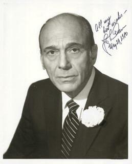 JOHNNY GREEN - AUTOGRAPHED SIGNED PHOTOGRAPH 05/29/1980