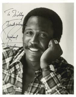 RICHARD ROUNDTREE - AUTOGRAPHED INSCRIBED PHOTOGRAPH 1990