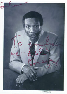 DICK GREGORY - AUTOGRAPHED INSCRIBED PHOTOGRAPH