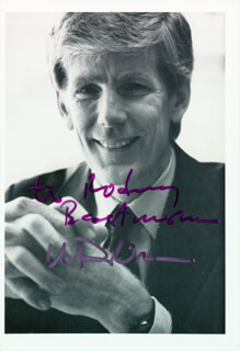 WILLIAM DEVRIES - AUTOGRAPHED INSCRIBED PHOTOGRAPH