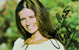 JUNE CARTER CASH - PICTURE POST CARD SIGNED  - HFSID 192923