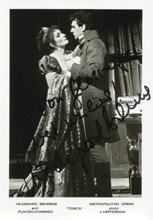 HILDEGARD BEHRENS - AUTOGRAPHED INSCRIBED PHOTOGRAPH