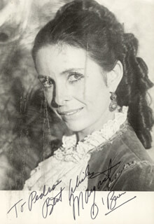 MARGARET O'BRIEN - AUTOGRAPHED INSCRIBED PHOTOGRAPH