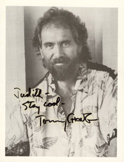 CHEECH & CHONG (TOMMY CHONG) - AUTOGRAPHED INSCRIBED PHOTOGRAPH