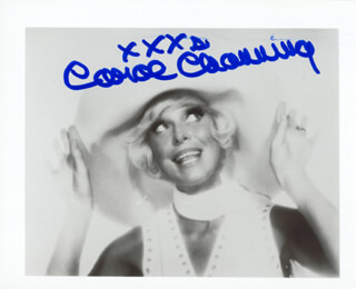 CAROL CHANNING - AUTOGRAPHED SIGNED PHOTOGRAPH