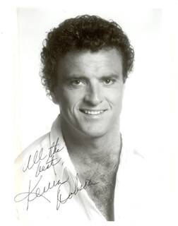 KEVIN DOBSON - AUTOGRAPHED SIGNED PHOTOGRAPH