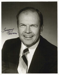 TOMMY NEWSOM - AUTOGRAPHED SIGNED PHOTOGRAPH