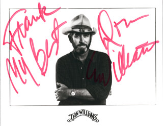 DON WILLIAMS - AUTOGRAPHED SIGNED PHOTOGRAPH