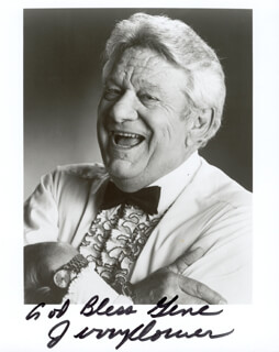 JERRY CLOWER - AUTOGRAPHED SIGNED PHOTOGRAPH