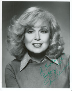 Autographs: EDIE ADAMS - INSCRIBED PHOTOGRAPH SIGNED