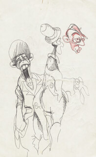RALPH BAKSHI - ORIGINAL ART UNSIGNED