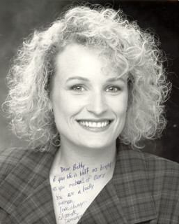 ELIZABETH DENNEHY - AUTOGRAPHED INSCRIBED PHOTOGRAPH