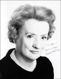 MILDRED NATWICK - AUTOGRAPHED INSCRIBED PHOTOGRAPH