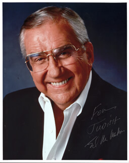 ED McMAHON - AUTOGRAPHED INSCRIBED PHOTOGRAPH