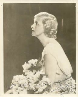 GLADYS COOPER - AUTOGRAPHED SIGNED PHOTOGRAPH 6/1939