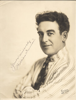 WILLIAM DUNCAN - AUTOGRAPHED SIGNED PHOTOGRAPH