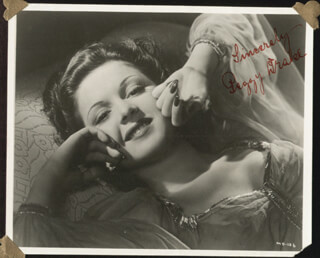 PEGGY DRAKE - AUTOGRAPHED SIGNED PHOTOGRAPH