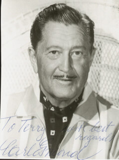 CARL ESMOND - AUTOGRAPHED INSCRIBED PHOTOGRAPH