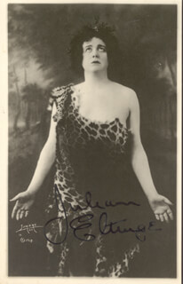 JULIAN ELTINGE - AUTOGRAPHED SIGNED PHOTOGRAPH 1918