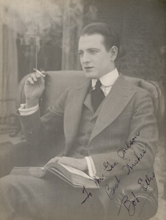 ROBERT ELLIS - AUTOGRAPHED INSCRIBED PHOTOGRAPH