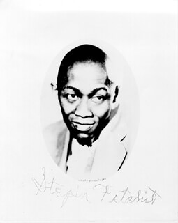 STEPIN FETCHIT - AUTOGRAPHED SIGNED PHOTOGRAPH