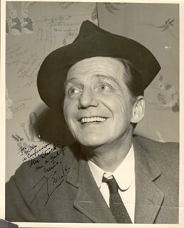 FRANK FAY - AUTOGRAPHED INSCRIBED PHOTOGRAPH
