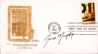 GEORGE MURPHY - FIRST DAY COVER SIGNED