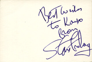 STAN FREBERG - AUTOGRAPH NOTE SIGNED