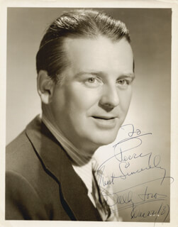 WALLACE WALLY FORD - AUTOGRAPHED INSCRIBED PHOTOGRAPH 12/22/1937