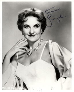 HERMIONE GINGOLD - AUTOGRAPHED SIGNED PHOTOGRAPH