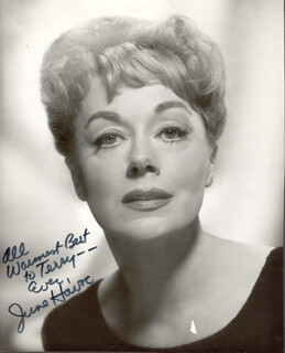 JUNE HAVOC - AUTOGRAPHED INSCRIBED PHOTOGRAPH