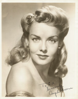 ANGELA GREENE - AUTOGRAPHED INSCRIBED PHOTOGRAPH