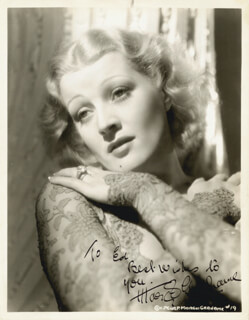 MARGOT GRAHAME - AUTOGRAPHED INSCRIBED PHOTOGRAPH