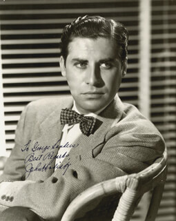 JOHN HODIAK - AUTOGRAPHED INSCRIBED PHOTOGRAPH