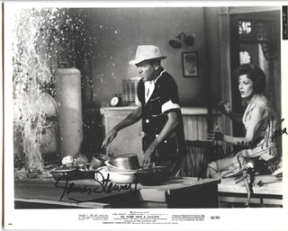 MR. HOBBS TAKES A VACATION MOVIE CAST - AUTOGRAPHED SIGNED PHOTOGRAPH CO-SIGNED BY: JAMES JIMMY STEWART, MAUREEN O'HARA