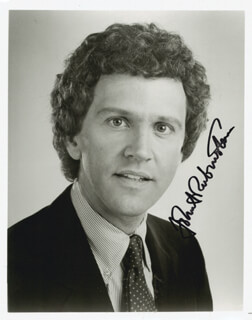 JOHN RUBINSTEIN - AUTOGRAPHED SIGNED PHOTOGRAPH
