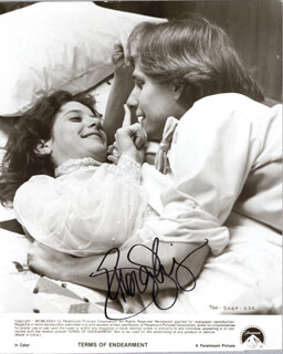 DEBRA WINGER - AUTOGRAPHED SIGNED PHOTOGRAPH