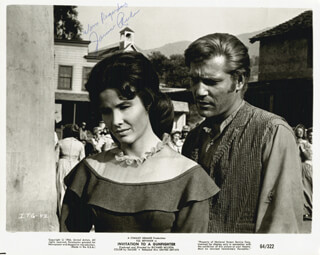JANICE RULE - AUTOGRAPHED SIGNED PHOTOGRAPH