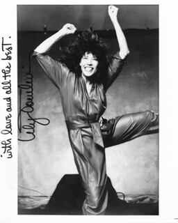 LILY TOMLIN - AUTOGRAPHED SIGNED PHOTOGRAPH