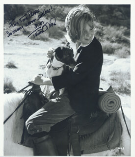 TATUM O'NEAL - AUTOGRAPHED INSCRIBED PHOTOGRAPH
