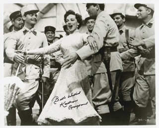 KATHRYN GRAYSON - AUTOGRAPHED SIGNED PHOTOGRAPH
