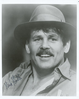 NICK NOLTE - AUTOGRAPHED SIGNED PHOTOGRAPH