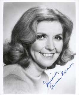 ANNE MEARA - AUTOGRAPHED SIGNED PHOTOGRAPH